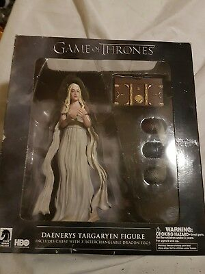 daenerys targaryen figure with eggs