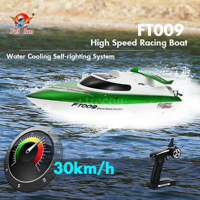 Feilun FT009 2.4G 30km/h High Speed RC Racing Boat with Water Cooling