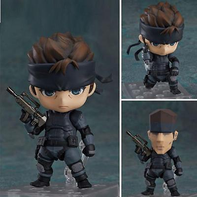 Nendoroid 447 Metal Gear Solid Solid Snake PVC Figure Toy Gift