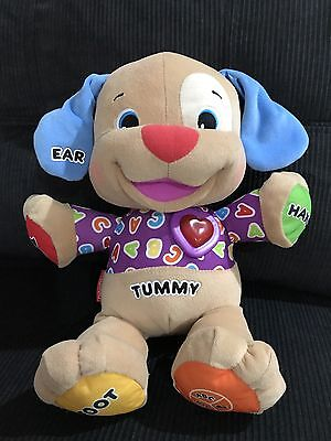 Fisher Price Learn To Laugh & Play Interactive Puppy