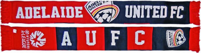 Adelaide United Supporters Scarf- 100% Official A-League Product