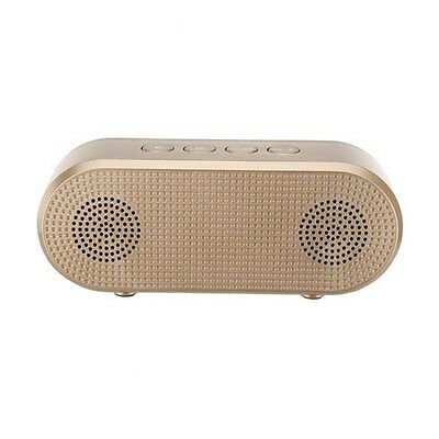 Bluetooth Portable indoors Speaker Rechargeable Battery Favourite Music NEW