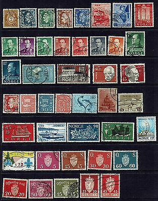Norway....collection Of Older Stamps