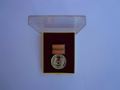 GERMAN.7 yr WORK TODAY TO LIVE TOMORROW AWARD.CASED -:- GENUINE.ISSUED,USED.