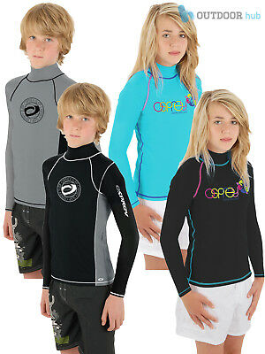 Osprey Kids Long Sleeve Rash Vest Wetsuit Top Guard Boys Girls Children UV Sun