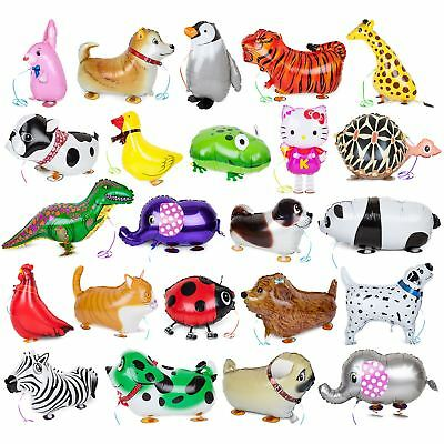 Airwalkers Animal Unicorn Walking Pet Balloons Helium Birthday Stocking Fillers