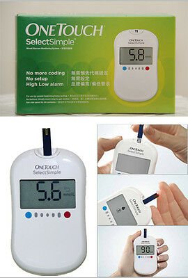 new product One Touch Select Simple Glucometer