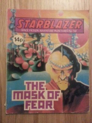 Starblazer Issue No 52 - The Mask of Fear