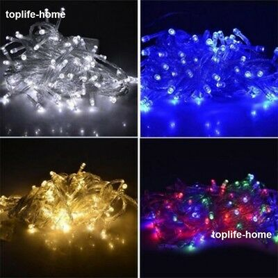 2/3/10/20/30/100M 20/30/100/200/500 LED Fairy String Lights Xmas Christmas Party