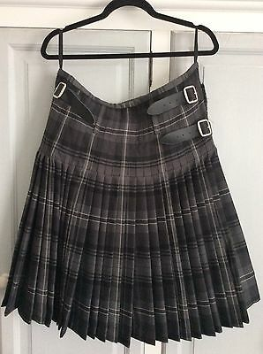 Scottish Hamilton Grey Kilt
