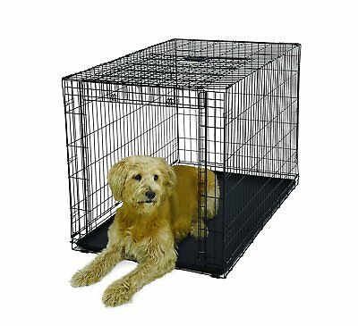 MidWest OVATION Metal Dog Crate Up-and-Away SINGLE Door 1948 91-125 lb Dog XL-50