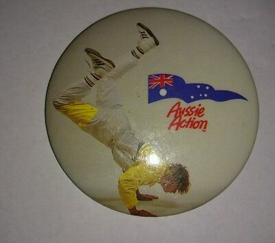 Collectable Badge 'Aussie Action'