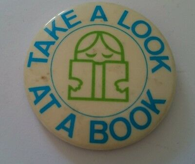 Collectable Badge -Take a look at a book
