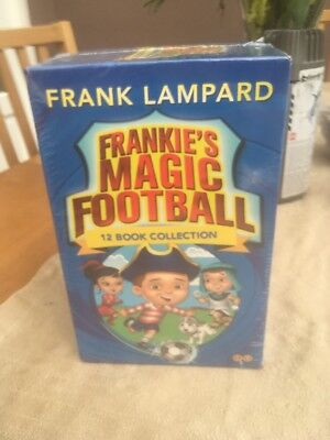Frank Lampard Books - 12 Book Collection - New - Frankie's Magic Football