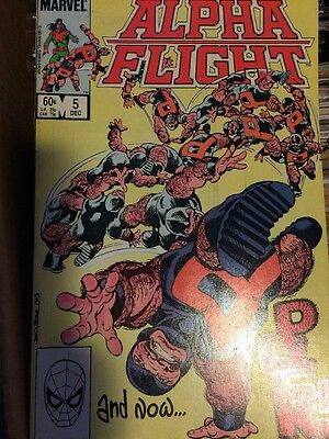 Alpha Flight #5 (Dec 1983, Marvel)