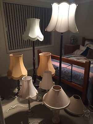 Vintage Floor Lamps And Table Lamps