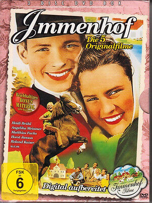 Immenhof - Die 5 Originalfilme digital aufbereitet DVD BOX NEU