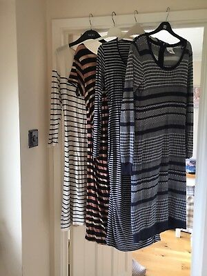 Four Maternity Causal Dresses Size 10 12