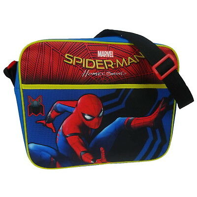 NEW OFFICIAL Marvel Spider-Man Homecoming Boys Kids Satchel School Shoulder Bag