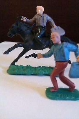 Vintage 1960/70's TIMPO cowboy bank robbers.great condition