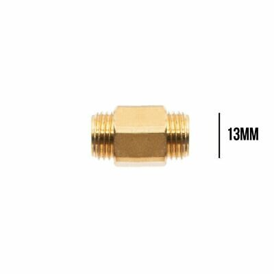 Brass connector male to male snow foam lance cannon pressure washer adaptor 13mm