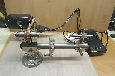 8Mm Watch Makers/ Clock Makers Lathe - Takes Pultra Type Collets.