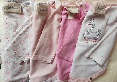 Baby girl long sleeve vests 0-3
