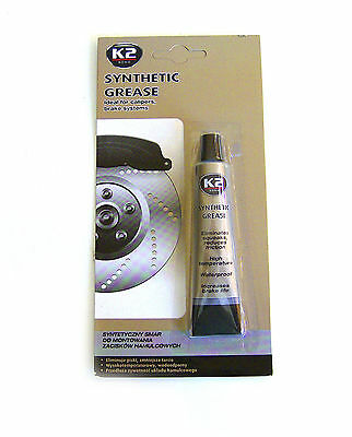 K2 BOND Synthetic Grease, Ideal for Calipers, Brake systems 18ml