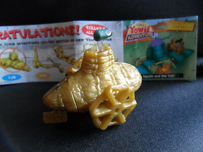 Yowies Series 7 ADVENTURE SERIES 2 * YUB * LIMITED EDITION TRANSPORTER