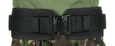 "BlackHawk 41BP02BK Black Belt Pad IVS Fits Belts Up To 2.25"" - Sz Medium"