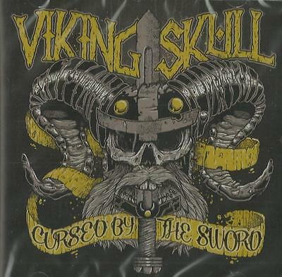 Viking Skull - Cursed by the Sword ( CD 2012 ) NEW/SEALED