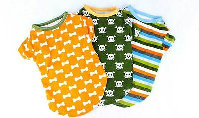Small Dog Clothes Pet T-shirts and Tops Animal Clothing