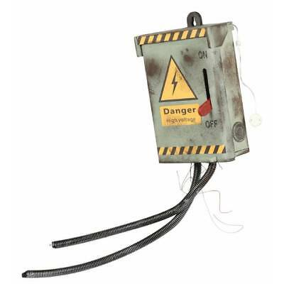 High Voltage Electric Shock Power Fuse Box Halloween Decoration Prop