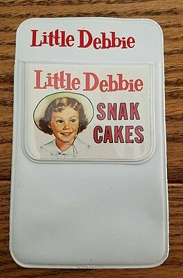 NOS Vintage LITTLE DEBBIE Mckee Sunbelt Pocket Pen Holder