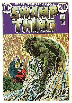 Swamp Thing 1   Wrightson
