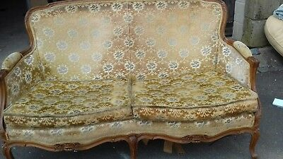 Antique french chaise longue solid but needs a little work for Antique french chaise longue