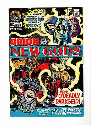 New Gods 2 (1971): High Grade cents - 1st Darkseid on cover - Jack Kirby