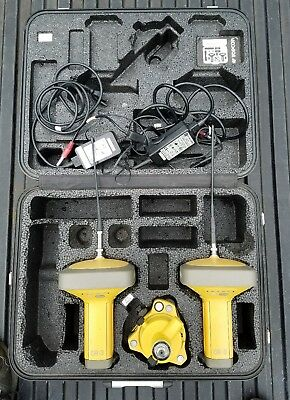 Topcon GR-3 GNSS Base & Rover Digi 2 UHF with Accessories