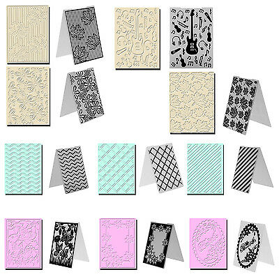 Plastic Embossing Folder Template For Scrapbooking Photo Album Card DIY Craft