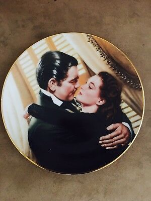 "Collectible Plate ""Marry Me Scarlett!"" From Gone With The Wind Series"