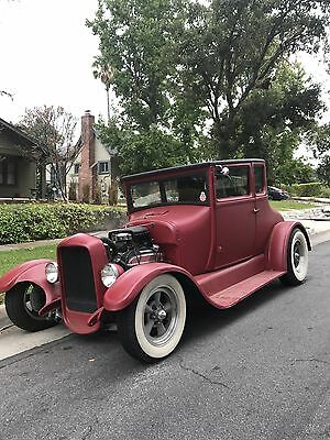 1927 Ford Model T Doctors Coupe All steel including running boards, fenders, doors,Original Henry Ford. No rust.