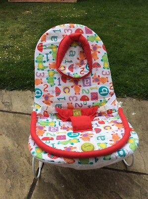 Mamas and Papas Buzz Jungle Baby Bouncer Chair Vibrating