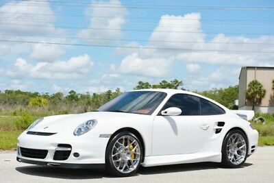 2008 Porsche 911  2008 911 TURBO COUPE - 19K MILES - RARE COLORS -TECHART UPGRADES- CERAMIC BRAKES