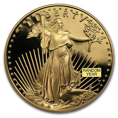 1 oz Proof Gold American Eagle (Random, Capsule Only) - SKU #32756