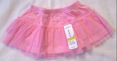 Jumping Beans pink tulle tutu skirt 9 months New