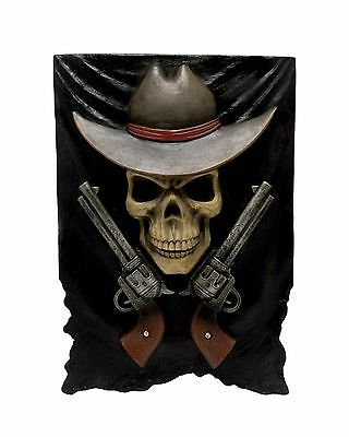 Dead or Alive - Cowboy Wild West Wall Mount