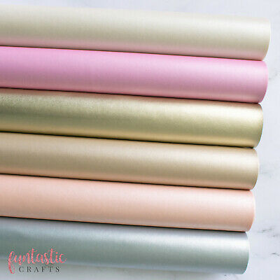 Smooth Pearl Metallic Leatherette Fabric - Faux Leather - Crafts & Bows