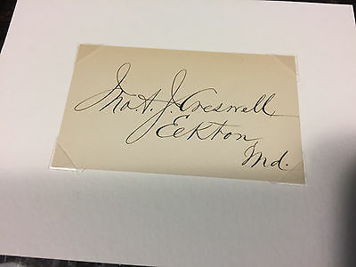 John A Creswell Postmaster General for US Grant , MD Sen 1865-67, Cong 1863-65