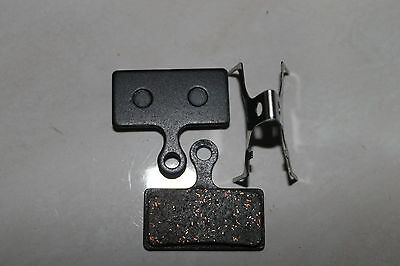 Two pair (4) bike disk disc brake pads to suit Shimano BR-M985 M988 M785 M666