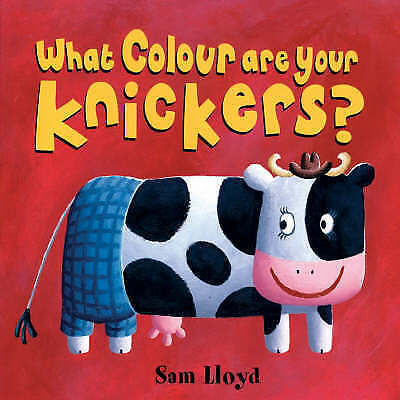NEW -  WHAT COLOUR ARE YOUR KNICKERS ? by Sam Lloyd    BRILLIANT PRE SCHOOL book